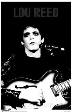 Lou Reed Masterprint