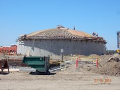 Construction is in progress to upgrade Visalia's existing water treatment plant, the largest capital project in the city's history.
