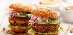 Falafelburgers recept | Smulweb.nl