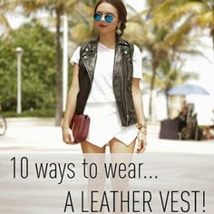 Nany's Klozet : REMIX: leather vest **updated**