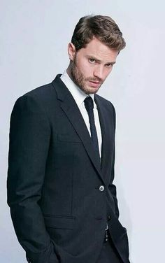 """I wanted to see him smile more and make him someone that is an actual human being."" #JamieDornan about #ChristianGrey"