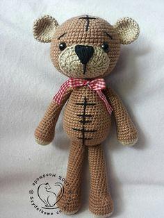Hey, I found this really awesome Etsy listing at https://www.etsy.com/pt/listing/221830506/amigurumi-cute-teddy-bear-pdf-pattern