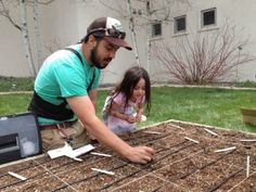 Slow Money loan recipient Bryant Mason starts seeds to help grow community gardens.