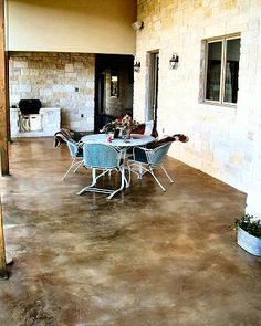 stained concrete patio,  Go To www.likegossip.com to get more Gossip News!