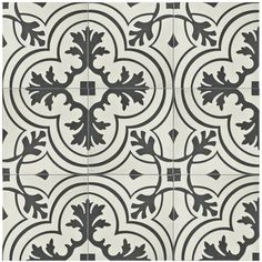 Add vintage charm and throwback style to your modern bathroom, kitchen, laundry room or other space with the SomerTile 7.75x7.75-inch Thirties Vintage Ceramic Floor and Wall Tile. Designed to wow gues