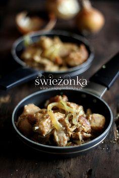 świeżonka Pork, Chicken, Meat, Kale Stir Fry, Pork Chops, Cubs