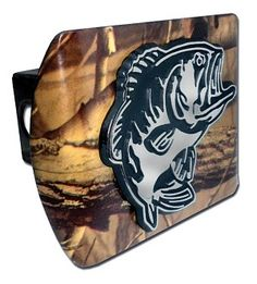 This Bass Fish Camo Hitch Cover is Made in the USA. A step above in quality and appearance. http://www.prideonmyride.com/Bass-Fish-Camo-Hitch-Cover_p_350.html.