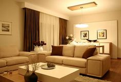 Love the lamp in dining room! House Design Photos, Design Case, House Plans, Dining Room, Couch, Curtains, Design Interior, Curtain Ideas, Google