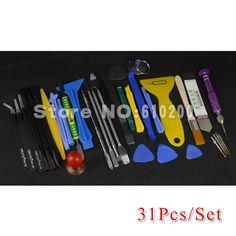 34 in 1  Phone Opening Repair Tools Screwdrivers Set Kit ESD Tweezers For iPhone samsung HTC Nokia laptop tablet open tools iPhone Web Shop |