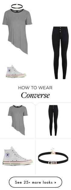"""Untitled #2515"" by carson729 on Polyvore featuring Topshop, New Look and Converse"