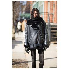 """Katlin • @katlin_aas #katlinaas #topmodel #neighbour #acne #acnestudios #style #streetstyle #fashion #nyfw #newyork #nyc #theoutsider #theoutsiderblog…"""