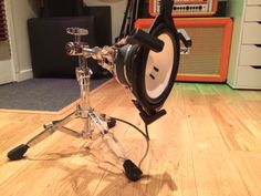 We love our DIY sub-kick mic at A-Tonal Recording Studio. BEEFY! Great for rock, metal and punk bands.