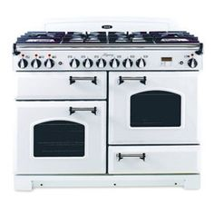 AGA 44 Inch Dual Fuel Range with Cathedral Door