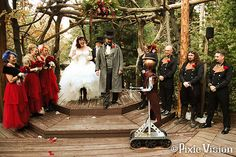 Amazing Steampunk Wedding - photos via The Mary Sue