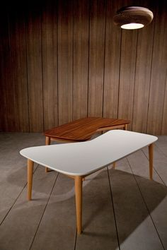 table basse design vy blanche
