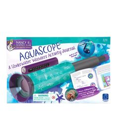 Love this Aquascope & Underwater Activity Journal Set on #zulily! #zulilyfinds