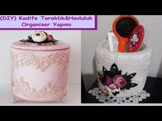 Organizer diy | Kadife Kutu Kaplama Taraklık&Havluluk Yapımı,Süsleme,Nasıl Yapılır| How To Decor Box - YouTube Laundry Box, Envelope Box, Cardboard Crafts, All Craft, Diy Organization, Diy Projects To Try, Organizer, Decoration, Diy And Crafts