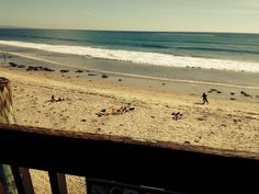 The Swami's break is long so that there's enough ocean for every surfrider.