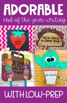 End Of Year Activities, Kindergarten Activities, Writing Activities, Classroom Activities, Teaching Writing, Writing A Book, Teaching Tips, End Of School Year, Theme Days