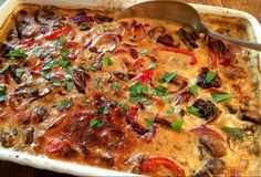 Koteletter, grønt og gorgonzola i fad | Persilles blog