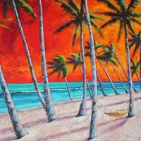 Wind by Antigua Artist, Naydene Gonnella,