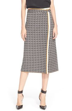 Tracy Reese 'Chic' Print PonteKnit Skirt available at #Nordstrom
