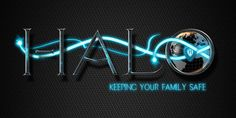 Halo Logo Designed by Spectra Marketing Solutions.    Need graphic design? visit www.spectrams.com