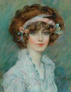 Portrait of woman. Unknown.