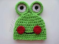 Frog Hat Free Patterns