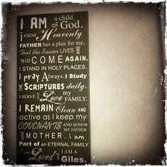 This mom created a board of affirmations for her family. Such a wonderful idea! Love it. I really want to make one!