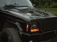 Jeep XJ Hood Vents | ram air hood fitted hood | XJ | Pinterest