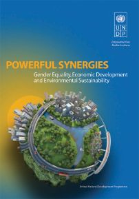 UNDP publication: Powerful Synergies: Gender Equality, Economic Development and Environmental Sustainability, is a collection of evidence-based papers by scholars and practitioners that explore the interconnections between gender equality and sustainable development across a range of sectors and global development issues such as energy, health, education, food security, climate change, human rights, consumption and production patterns, and urbanization.