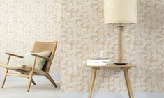 Elitis  Tanger Wallcovering  Raffia aspect weave, pasted on non woven backing