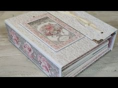 Scrapbook Wedding Album, Wedding Mini Album, Mini Scrapbook Albums, Mini Albums, Paper Art, Paper Crafts, Handmade Scrapbook, Memory Books, Handmade Wedding