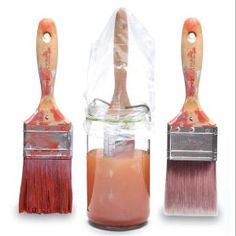Paint Brush Care: How To Rescue a Petrified Brush  Don't throw away expensive paintbrushes—they can be saved!