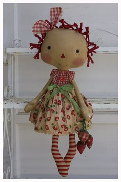 Dolls - What a sweet Raggety Ann