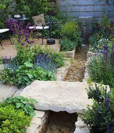 Der Garten ohne Rasen
