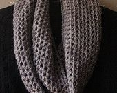 Crochet cowl scarf...if I ever learn how to crochet!