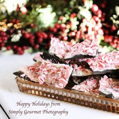 Simply Gourmet: 92. Peppermint Party-3 easy recipes