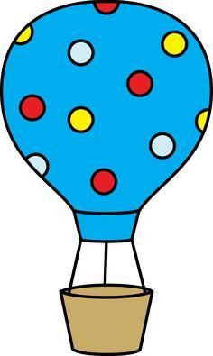 Colorful Polka Dot Hot Air Balloon Drawing Lessons For Kids, Art Drawings For Kids, Easy Drawings, Easy Coloring Pages, Animal Coloring Pages, Hot Air Balloon Clipart, Balloon Balloon, Easy Art For Kids, Balloon Painting
