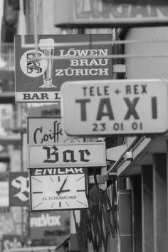 Zürich Kreis 5 an der Langstrasse, 1975