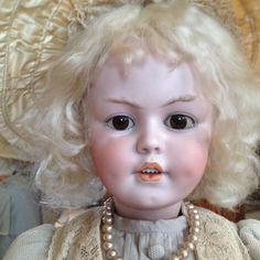 "ADORABLE HUGE ""32"" inch Simon & Halbig 1279 DEP CHARACTER Doll / wonderful shape"