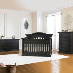 Bonavita 3 Piece Nursery Set   Belmont Lifestyle 4 In 1 Convertible Crib  And Double Dresser