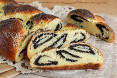 Маковый пирог «Пасхальная плетенка»