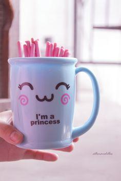 im a princess mug
