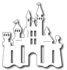 Frantic Stamper - Precision Dies - Princess Castle,$10.99