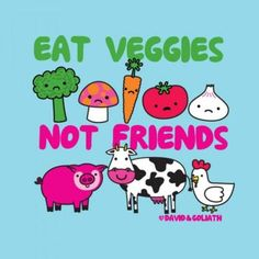 I don't eat my friends...