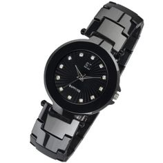 K011G Black Ceramic Watch For men
