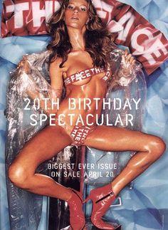cMag482 - The Face Magazine cover Gisele Bündchen by David Lachapelle / April 2000