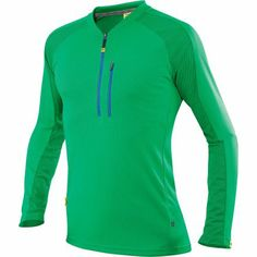 Mavic Notch Jersey - Long-Sleeve Athletic Green, L - Men's - http://ridingjerseys.com/mavic-notch-jersey-long-sleeve-athletic-green-l-mens/
